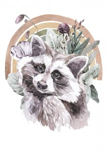 Poster FRIENDS RACCOON
